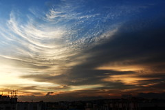 Swirls of storm (ensoleillement91) Tags: sky sunset sun skylovers sunshine skyporn sundown storm space dusk cloud clouds city cloudporn nature nofilter natur weather wind twilight evening landscape flickr outdoor