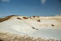 Krafla Viti Crater 01 (sarahmonious) Tags: kraflaviticrater kraftla viti myvatn kraftlavolcano volcanocrater crater hverir snow route1iceland route1 ringroad iceland iceland2016 icelanding2016 traveling