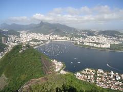 Enseada de Botafogo (Mrcio Luiz C Marques) Tags: riodejaneiro botafogo urca corcovado iateclubedoriodejaneiro podeacar