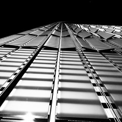 Outer space  (jamarcallender@rocketmail.com) Tags: architecture building strong urban dayandnight blacksky outerspace nyc city manhattan majestic iphoneography blackandwhitephotography photooftheday bold blackandwhite