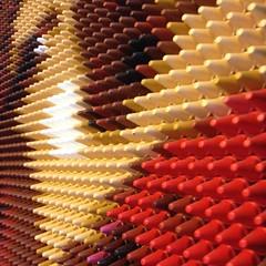 Crayons (elena_hd) Tags: art crayons crayolas rojo rosa red perspective