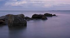 Baltic Sea - long exposure (kalakeli) Tags: balticsea ostsee august 2016 grmitz longexposure blauestunde bluehour buhnen water wasser langzeitbelichtung 20secs nd ndfilter nd30 nd1000