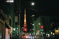 tokyo (HIMIeee) Tags: tokyo tokyotower roppongi 35mm film filmcamera pentax mesuper