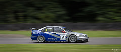 Rickard Rydell BTCC Volvo S40 '98 (wiganworryer) Tags: rickard rydell volvo s40 keith gibson wiganworryer canon 6d full frame 2016 photo photography image picture 70 200 f28 is ii zoom lens l series oulton park race track motor sport motorsport racing car circuit tarmac action outdoor outside gold cup historic british touring championship 1990 90 90s super tourers era win winning 1998 98 druids corner pan panning movement