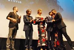 "Q&A, ""Barry"" World Premiere (larry-411) Tags: tiff film festival filmfestival toronto torontofilmfestival ryerson barry ellarcoltrane jennaelfman devonterrell"