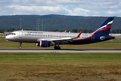 Aeroflot VQ-BPW, OSL ENGM Gardermoen (Inger Bjrndal Foss) Tags: vqbpw aeroflot airbus a320 osl engm norway gardermoen