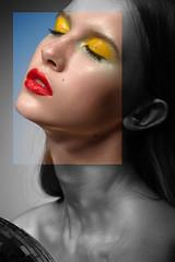mirror ball beauty (pt2) (ilyich_ph) Tags: ifttt 500px beauty fashion portrait red lips mirrorball