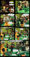 Shrinky Dinks 7 (Lazy Ass Artisan) Tags: optimus prime ironhide trailbreaker hound hoist warpath grapple carly chip autobots autobot decepticon decepticons transformers kreo lego