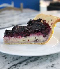 Blackberry Custard Pie 2 (one.juniper) Tags: whipcream pie fruit blackberries freshly picked fresh food photography foodie crust custard recipe homemade countryliving country cooking baking foodstaging baker kitchen staging styled foodstyling sauce preserves plated ontario canada blackberry berry dessert
