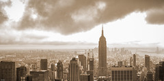 ... clouds over New York ... (wolli s) Tags: newyork usa us ny nyc empire state building newyorkcity city