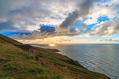 Chasing The Sunset (mephistofales) Tags: iceland sunset sundown twilight water sea ocean scandinavia nordic hdr tonemapping roadtrip highdynamicrange