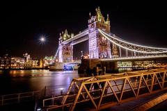 Tower Bridge View (frankjermann) Tags: 2016 august london urlaub beautiful long exposure tower bridge colors lights night