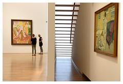 Deux ombres aux tableaux (Photocg) Tags: escalier muse tableaux visiteurs