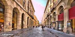 teramo hdr (sanino fabrizio) Tags: citt viale centro storico archi portici hdr teramo abruzzo italia canon 550d 1020 hsd sigma