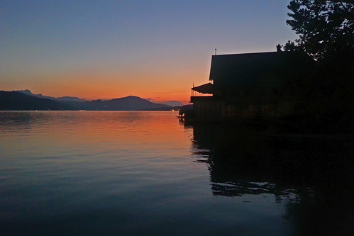 Tramonto sul Woerthersee - Sunset on Woerthersee