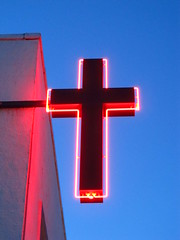 Neon Cross (chearn73) Tags: cross church neon chapel gospel religion winnipeg manitoba canada