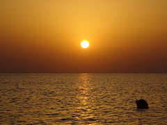 JAWS!  (+ Hazy Sky) (crush777roxx) Tags: crush777roxx crush 20160621 2016 june 21st compact camera sony hx60v sunrise pier buoy hazy haze island sun reflection water morning early predawn dawn jaws shark ocean summer nature zoom crete greece greek gold earlymorning sunrisewater goldocean liquidgold sunrisepier sunriseisland islandsunrise greecesunrise cretesunrise greekislandcrete greekisland creteisland cretegreece compactcamera sonyhx60v