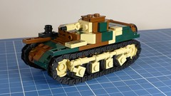 AMR 35 (2016 version) (Rebla) Tags: lego ww2 wwii world war 2 french scale 135 amr 35 tank rebla