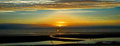 sunset in Prestwick (jonwhyte19) Tags: sunset ayrshire layers beach colours landscape scotland nikon d3000 kitlens