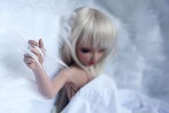La marie (Minuit ) Tags: minife minifee fairyland chloe tan tanned skin poupe poupee photography photographie marie mariage msd