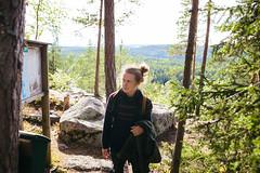 kammiovuori-nakoalapaikka_4-EetuLinnankivi (OutdoorsFi) Tags: kammiovuori mennäänmetsään sysmä näköalapaikka nature map