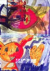 (iloveart106) Tags: naive drawings children art paintings outsider artist        dessins nafs enfants peintures extrieur artiste