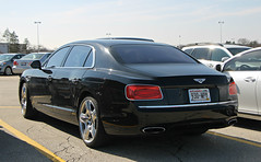 Bentley Flying Spur W12 (SPV Automotive) Tags: bentley flying spur w12 sedan exotic sports car black