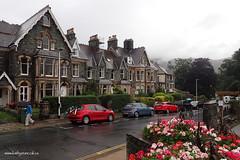 e keswick rain (Simon -n- Kathy) Tags: keswick england lakedistrict lakelands hike rain walk castlerigg