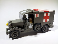Dodge WC54 Ambulance (Project Azazel) Tags: google lego ambulance pa ww2 vehicle dodge wwll googleimages wc54 legomilitary thesecondworldwar ww2vehicles legoww2 ww2lego olddarkgrey projectazazel legomilitarymodel wwlllego wc54dodgeambulance wwllvehicle