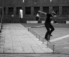 vladimir suprunov -bs crook (Alberto Della Beffa) Tags: life portrait bw torino moments tour skateboarding pigeons contest culture lifestyle spot skate trick turin skatespot valdofusi sbnk respectskatespot sabink