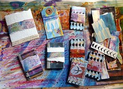 Colourful (LaWendeltreppe) Tags: art paper minibooks