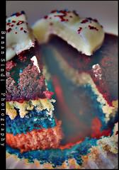 (Banan Sindi) Tags: rainbow cupcake كيك ملون كب منش