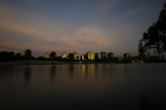 Albert Park Lake (emmoff) Tags: longexposure sunset summer lake australia melbourne 365 albertpark ndfilter nd400 365project tokina1116mm nikond7000