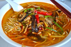 spicy noodles (Ian Riley) Tags: street food soup restaurant chinese kingdom australia bowl adelaide noodles noodle spicy sa southaustralia gouger