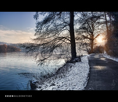 Winter in Essen: Baldeneysee (Photofreaks) Tags: schnee winter sunset lake snow essen sonnenuntergang district ruhr ruhrgebiet ruhrpott baldeneysee bestcapturesaoi adengs wwwphotofreaksws shopphotofreaksws besteverdigitalphotography