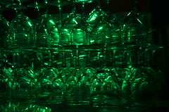 Verre vert (Agns Laure) Tags: france reflection green glass pyramid vert reflet pyramide verre saintpourain rgionauvergne nikond7000