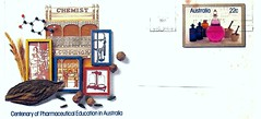 Australian Stamps First Day Cover (hytam2) Tags: stamps australian may 1981 centenaryofpharmaceuticaleducationinaustralia