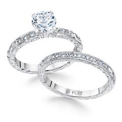 8326,8326w (whitehousebros) Tags: beautiful vintage antique quality engagementring weddingring platinum filigree vintageweddingring vintageengagementring diestruck