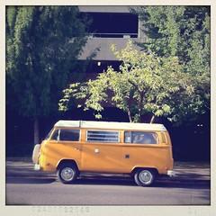 saturday (scurvy_knaves) Tags: cars vw oregon portland 4 automotive pdx van transporter iphone