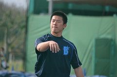 DSC_0379 (mechiko) Tags: 横浜ベイスターズ 130202 鄭凱文 横浜denaベイスターズ