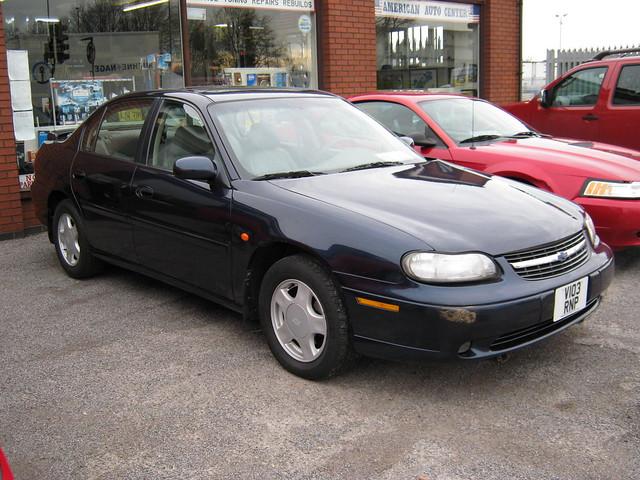 chevrolet 1999 malibu ls 3100cc v103rnp