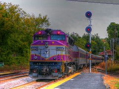 MBTA (Littlerailroader) Tags: railroad train publictransportation massachusetts trains transportation locomotive mbta hdr trainspotting locomotives railroads ayer mbcr passengertrains ayermassachusetts