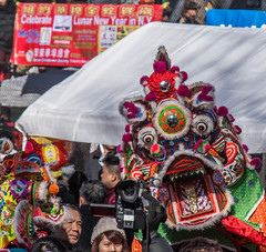 Chinese New Year in NYC - Dragon (Bob Jagendorf) Tags: nyc weather chinatown dragon fireworks events newyear celebration event jagendorf nex7 eventsweatherchinatowneventjagendorfnex7nyc