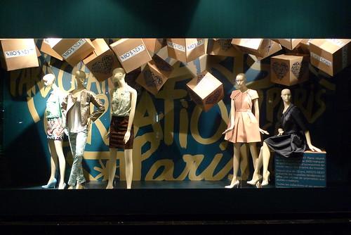 Vitrines Paris Capitale de la Création - Paris, janvier 2013