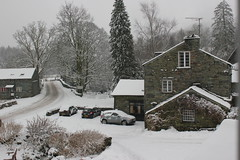 View from my window (Vik_O) Tags: snowy lakedistrict winterwonderland wintery skelwithbridge