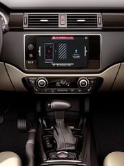 Qoros 3 Sedan - interior - centre console and infotainment (bigblogg) Tags: sedan qoros3 qorosgq3 geneva2013