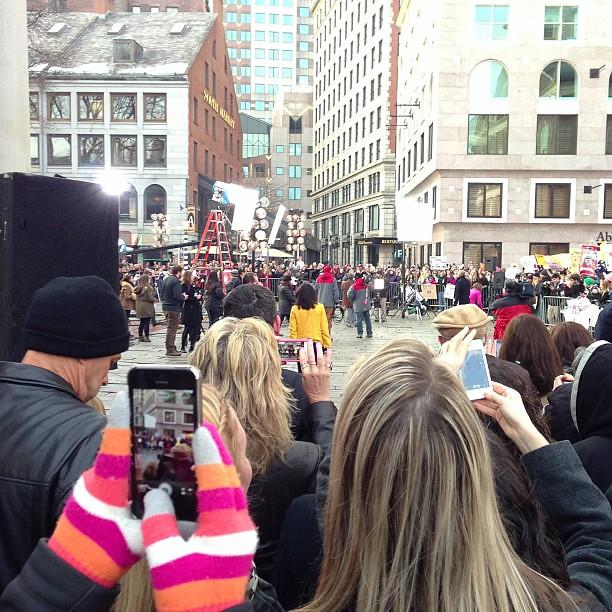 #todayinboston @Todayshow in Boston