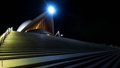 THE HOUSE - SYDNEY NSW AUSTRALIA 16-2-13 (smortaus) Tags: night nightshot sony steps sydney wideangle operahouse sydneynswaustralia a65 2013 nswlandscape dannyhayes mygearandme sigmawideanglelense nswaustraliansw