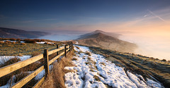 Inversions of the Peak District (awhyu) Tags: park photography hope back cross district derbyshire hill peak andrew double national valley inversion yu tor lose mam edale hollins