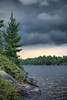 incoming storm - re-edited (crevicehead) Tags: sky lake ontario storm water clouds landscape cottage muskoka june2009 muldrewlake
